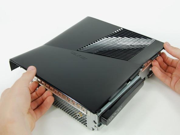 آموزش گام به گام و تصویری باز کردن ایکس باکس مدل اسلیم Xbox 360 slim irconsole.ir (10)
