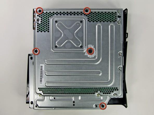 آموزش گام به گام و تصویری باز کردن ایکس باکس مدل اسلیم Xbox 360 slim irconsole.ir (4)
