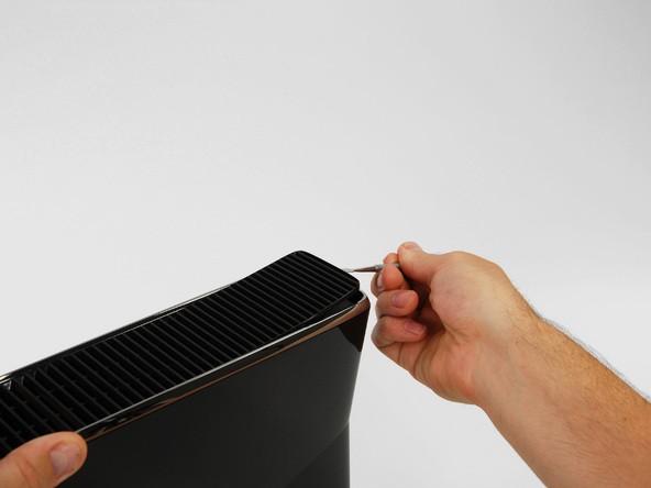 باز کردن ایکس باکس مدل اسلیم Xbox 360 slim irconsole.ir