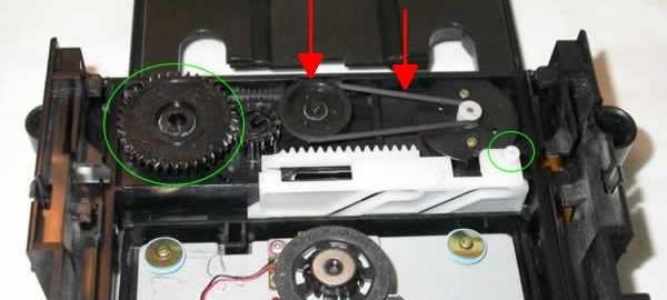 آموزش گام به گام و تصویری تعمیر درب درایو ایکس باکس Xbox 360