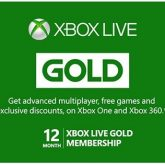 گلد 1 ساله ایکس باکس لایو Xbox one