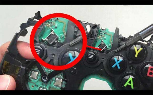 مشکل در دکمه LB - RB دسته ایکس باکس وان یا همون مشکل ابرویی دسته Xbox One